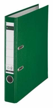 Папка-регистратор Esselte Leitz 10151255P пластик зеленый