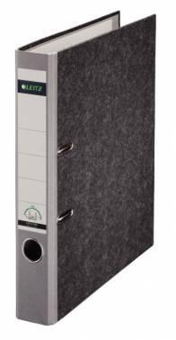 Папка-регистратор Esselte Leitz 10500285P картон серый