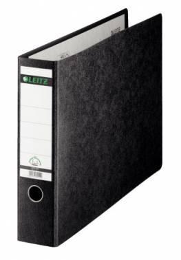 Папка-регистратор Esselte Leitz 10730000 картон черный мрамор