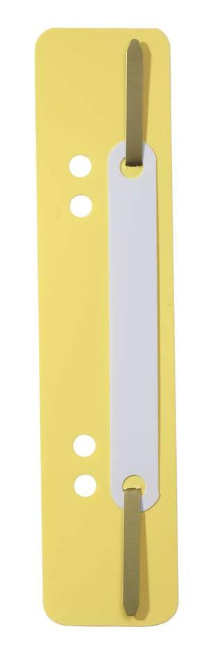 Скоросшиватель вставка Durable 6901-04 желтый - фото 1