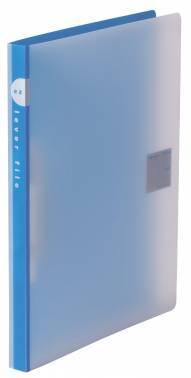 Папка с зажимом Kokuyo WE-FU320BL синий