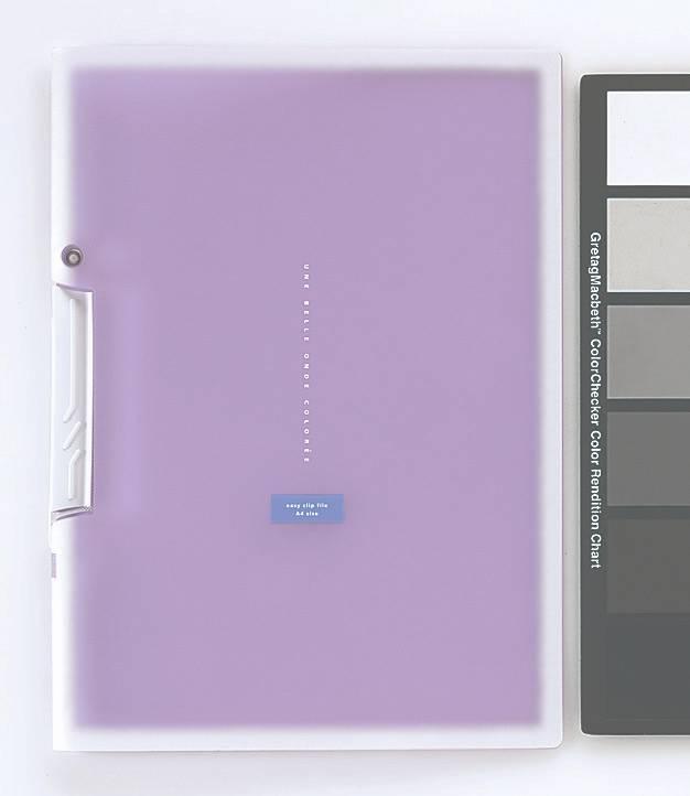 Папка с клипом Kokuyo Coloree F-VFH100V фиолетовый - фото 1