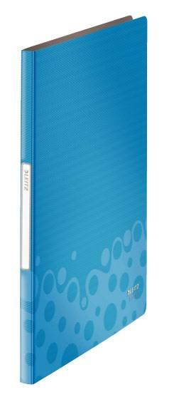 Папка Leitz Bebop А4/вкладышей:20/листов:40/пластик синий (компл.:1шт) (45640037) - фото 1
