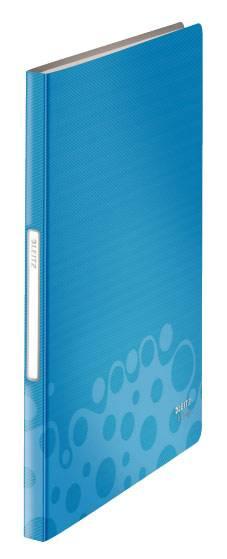 Папка Leitz Bebop с 40 прозрачн вкладышами синий - фото 1