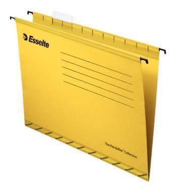 Папка подвесная Esselte Pendaflex Plus Foolscap 90335 желтый