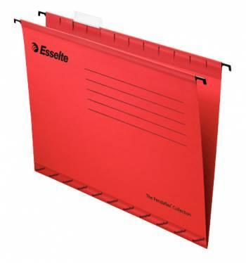 Папка подвесная Esselte Pendaflex Plus Foolscap 90336 красный