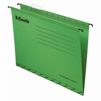 Папка подвесная Esselte Pendaflex Plus Foolscap 90337 зеленый