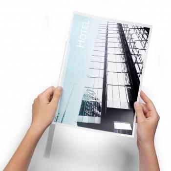 Скрепкошина Durable Spine Bars 2901-01 пластик 60листов 13х6мм черный
