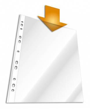 Папка-вкладыш Durable 2672-19 прозрачный А4 (упак.:100шт)