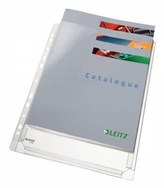 Папка-карман Leitz 47561003 прозрачный А4 (упак.:10шт)
