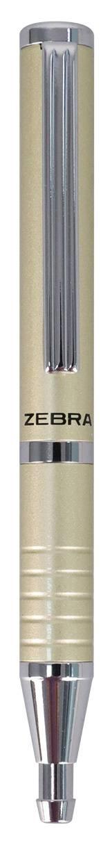 Ручка шариковая Zebra SLIDE шампань (BP115-SV) - фото 1