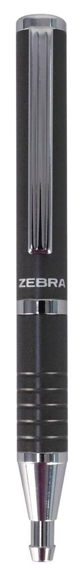 Ручка шариковая Zebra SLIDE серый металлик (BP115-GR) - фото 1