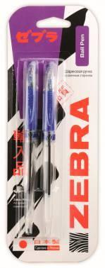 Ручка шариковая Zebra JIMNIE синий/синий