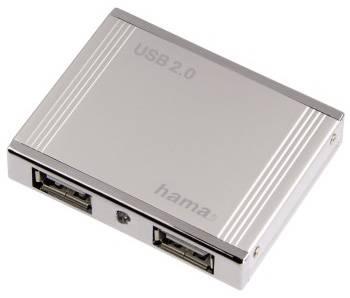 USB хаб  Hama Aluminium