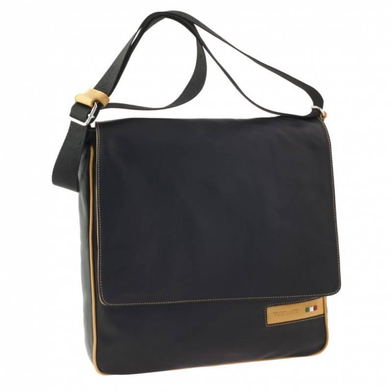 Сумка-планшет Tuscans TS-20000-092 черный/желтый - фото 1