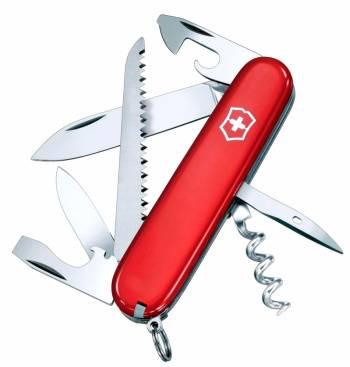 Нож со складным лезвием Victorinox Camper красный (1.3613)