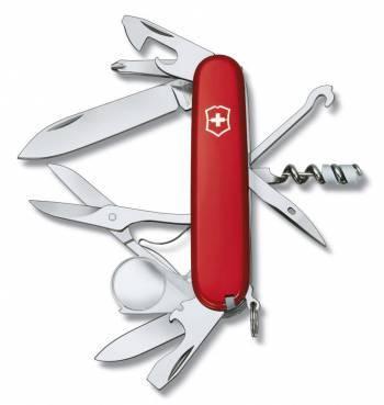 Нож со складным лезвием Victorinox Explorer красный (1.6703)