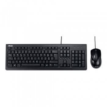 Комплект клавиатура+мышь Asus P2000 черный / черный