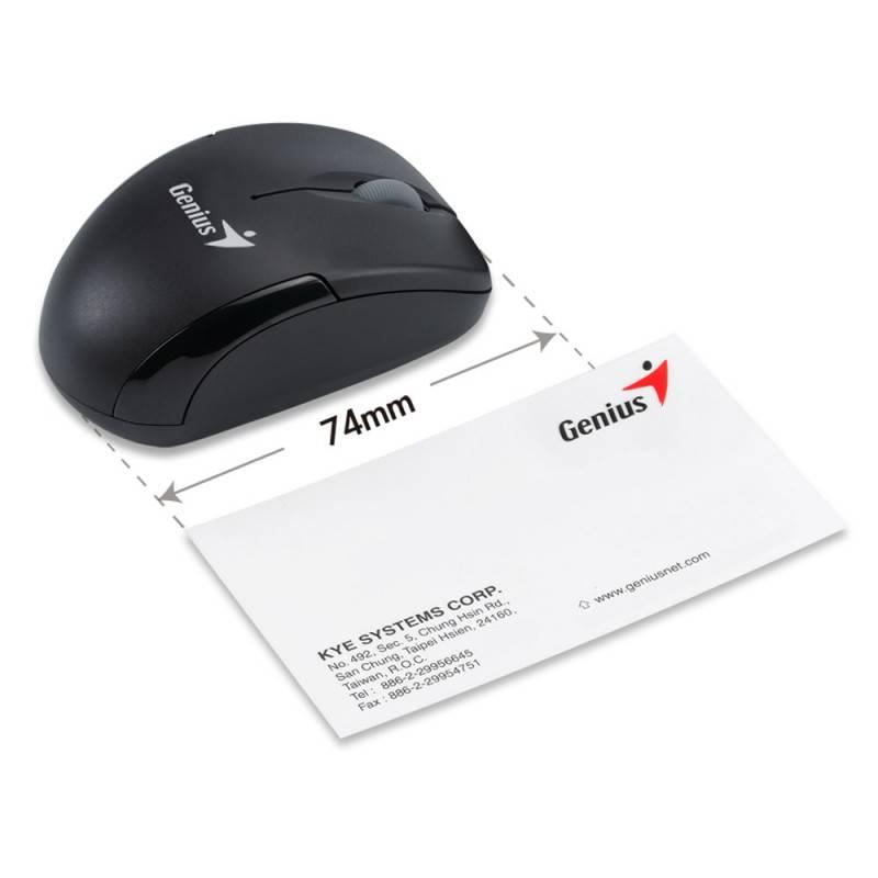 Мышь Genius Micro Traveler R красный/черный - фото 5