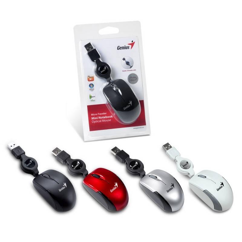 Мышь Genius Micro Traveler R красный/черный - фото 12