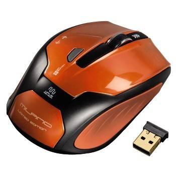 Мышь Hama H-52390 оранжевый / черный