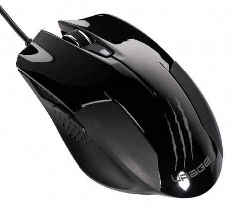 Мышь Hama H-62889 uRage evo черный - фото 1