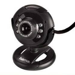 Веб-камера Hama H-86510 черный
