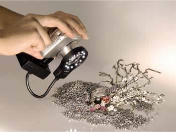 Лампа для макросъемки для компактных камер Hama H-60182 черный - фото 3