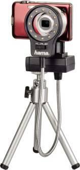 Лампа для макросъемки для компактных камер Hama H-60182 черный - фото 4