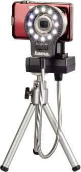 Лампа для макросъемки для компактных камер Hama H-60182 черный - фото 5