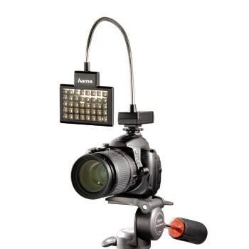 Светильник для зеркальных камер Hama 40 LED Photo/Video Slim Panel H-60184 черный - фото 1
