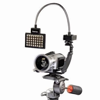 Светильник для зеркальных камер Hama 40 LED Photo/Video Slim Panel H-60184 черный - фото 2