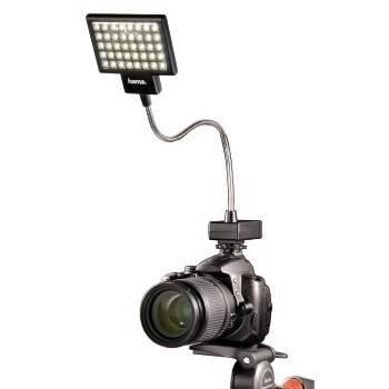 Светильник для зеркальных камер Hama 40 LED Photo/Video Slim Panel H-60184 черный - фото 3