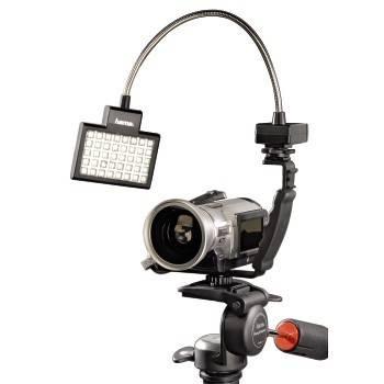 Светильник для зеркальных камер Hama 40 LED Photo/Video Slim Panel H-60184 черный - фото 4