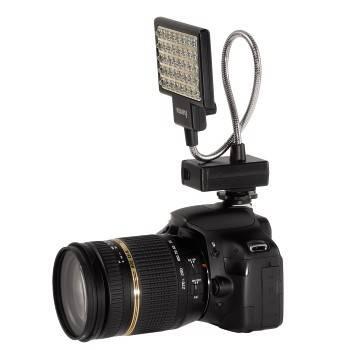 Светильник для зеркальных камер Hama 40 LED Photo/Video Slim Panel H-60184 черный - фото 5