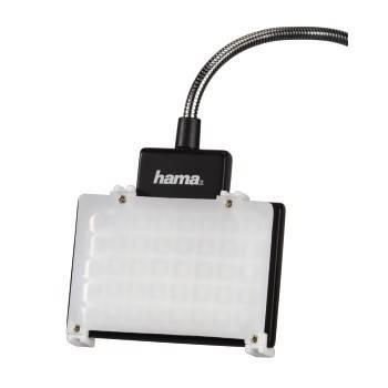 Светильник для зеркальных камер Hama 40 LED Photo/Video Slim Panel H-60184 черный - фото 9