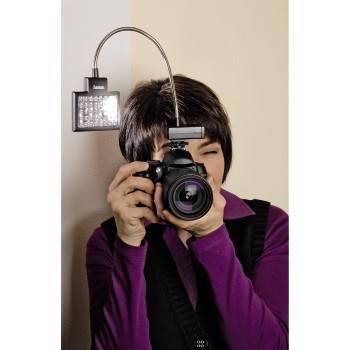 Светильник для зеркальных камер Hama 40 LED Photo/Video Slim Panel H-60184 черный - фото 10