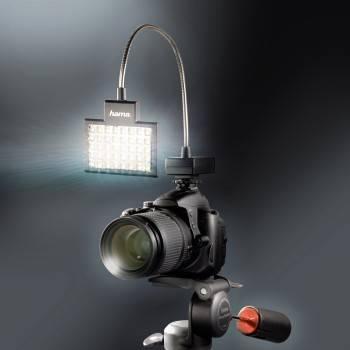 Светильник для зеркальных камер Hama 40 LED Photo/Video Slim Panel H-60184 черный - фото 11