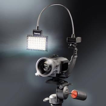 Светильник для зеркальных камер Hama 40 LED Photo/Video Slim Panel H-60184 черный - фото 12