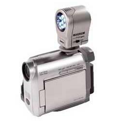 Лампа для видеокамер Hama Magnum DigiLight LED Light H-6343 серебристый - фото 2