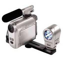 Лампа для видеокамер Hama Magnum DigiLight LED Light H-6343 серебристый - фото 3