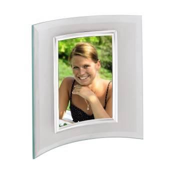 Фоторамка    Hama    Alisea    10x15см    silver    полукруглая    форма    стекло    (H-100970) - фото 1