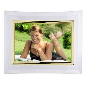Фоторамка Hama H-100976 Alisea альбомная 10x15см полукруглая форма стекло золотистый  - фото 2
