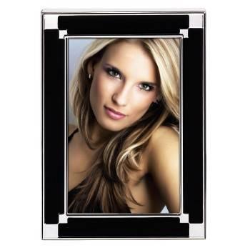 Фоторамка Hama H-57788 Arizona 10x15см стекло с рисунком черный  - фото 1