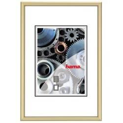 Фоторамка Hama H-61015 Chicago 30x40см паспарту 20х28см алюминий золотистый  - фото 1