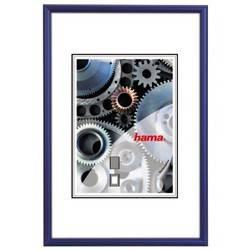 Фоторамка Hama H-61135 Chicago 30x40см паспарту 20х28см алюминий синий  - фото 1