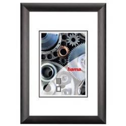 Фоторамка Hama H-61255 Manhattan 30x40см паспарту 20х28см алюминий черный  - фото 1