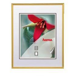 Фоторамка Hama H-66398 Sevilla 15х20 паспарту 10х15 пластик/стекло золотистый  - фото 1