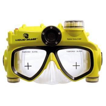 Маска с камерой Liquid Image H-118501 Маска для подв.плавания Explorer для фото-/видеосъемки желт  - фото 2