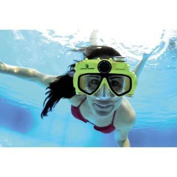 Маска с камерой Liquid Image H-118501 Маска для подв.плавания Explorer для фото-/видеосъемки желт  - фото 4